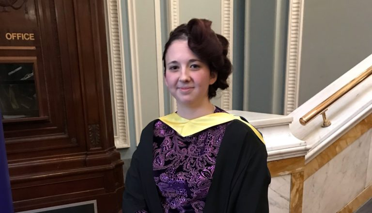 Seek help for mental health issues, urges Abertay graduate