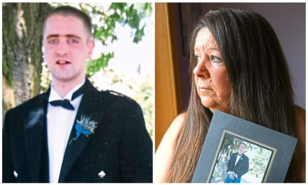 Grieving mum still seeking answers 11 years after son died at Dundee's Carseview Centre