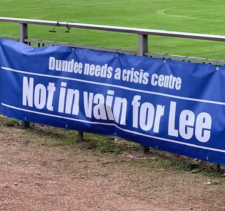 Charity football match raises more than £1,000 in memory of Dundee dad Lee